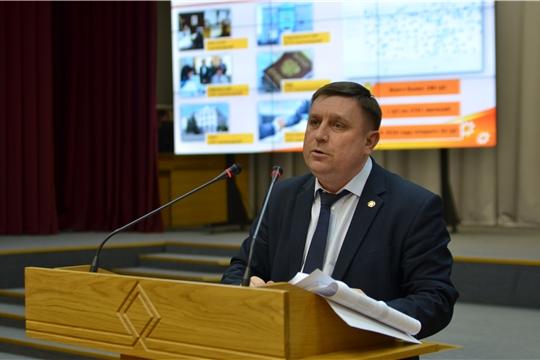 Министр Михаил Анисимов проинформировал депутатов Госсовета Чувашии о развитии курируемых отраслей