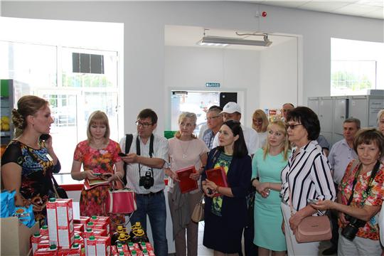 Семинар-совещание с представителями средств массовой информации Чувашской Республики в Ибресинском райпо Чувашпотребсоюза