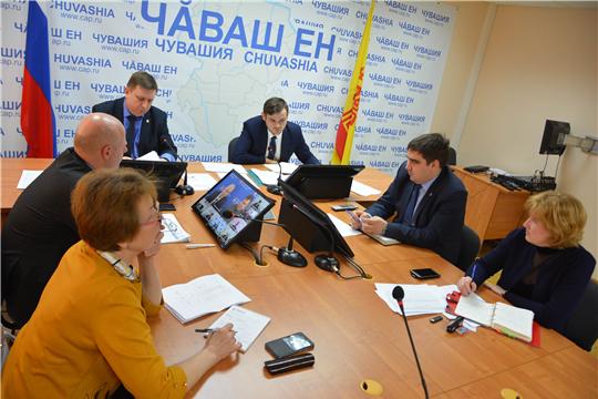 Заседание рабочей группы по развитию цифрового телерадиовещания на территории Чувашской Республики