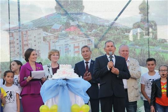 Екатерина Грабко приняла участие в праздничном мероприятии, посвященном Дню поселка Кугеси
