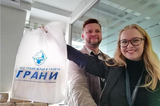 Редактор «Граней» проходит стажировку в «Российской газете»