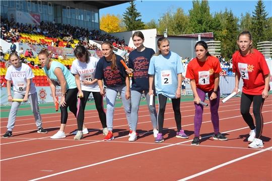 Состоялась легкоатлетическая эстафета газеты «Советская Чувашия»