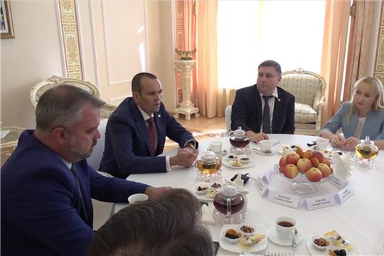 Глава Чувашской Республики Михаил Игнатьев встретился с представителями ведущих средств массовой информации