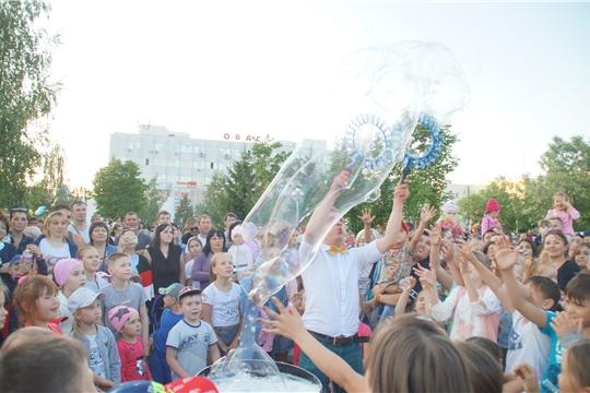 В сквере «Овас» прошел большой летний праздник, посвященный 550-летию г. Чебоксары