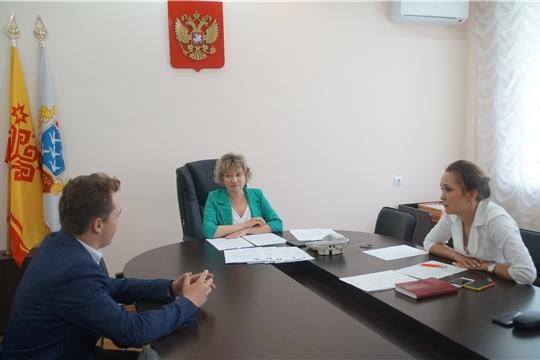 Молодежное правительство Калининского района г. Чебоксары пополнилось новыми талантами