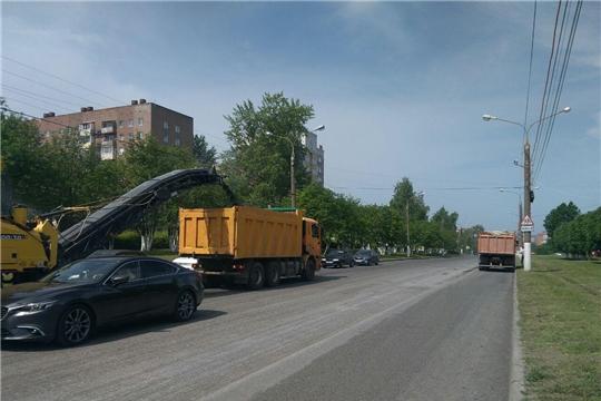 «Безопасные и качественные дороги»: на улице 50 лет Октября проходит масштабный ремонт