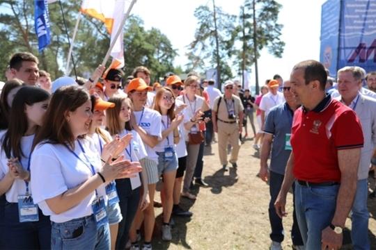 В Чувашской Республике открылся XI Молодёжный форум «МолГород-2019», где ожидается около полутора тысяч участников