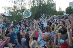 Чебоксарам – 550: мероприятия в Калининском районе