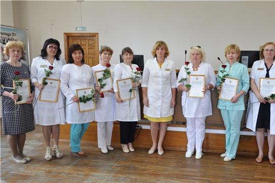 День медицинского работника: в Городской клинической больнице №1 наградили отличившихся сотрудников
