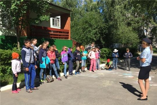 Детям из комплексного центра г.Чебоксары напомнили о правилах безопасности