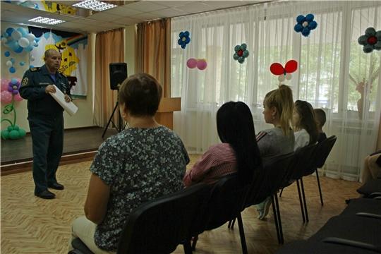 Воспитанникам Чебоксарского центра для детей-сирот напомнили о правилах поведения на воде