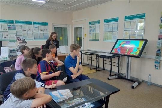 Дети из комплексного центра г. Чебоксары узнали о новых и перспективных профессиях на рынке труда