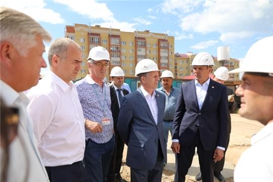 Глава Чувашии Михаил Игнатьев: «За 7 лет «Новый город» получил стремительное развитие»