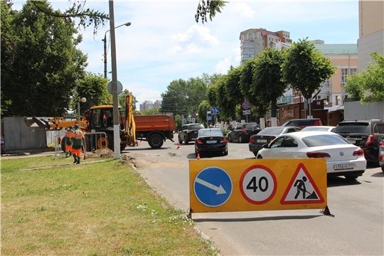 На бульваре Электроаппаратчиков в Чебоксарах закроется движение до октября