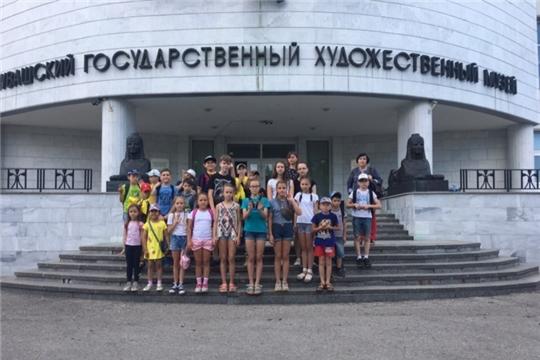 Год театра: дети из лагеря при комплексном центре г. Чебоксары приобщаются к искусству