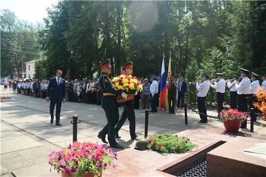 Чувашия присоединилась к Всероссийской военно-патриотической акции «Горсть памяти»