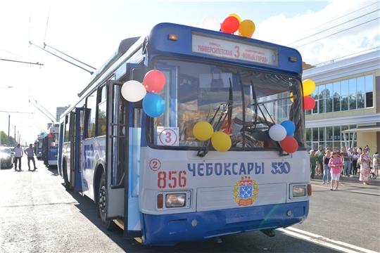 Экологически чистый городской транспорт пришел в Новый город