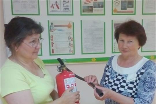 В комплексном центре г. Чебоксары особое внимание уделяют правилам пожарной безопасности