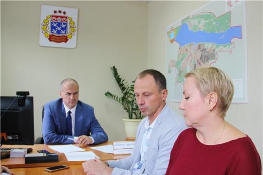 Алексей Ладыков провел прием граждан по личным вопросам