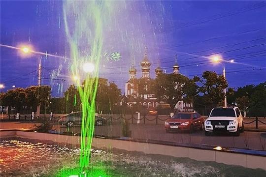 Чебоксарам – 550: жителям предлагают поучаствовать в конкурсе фотографий «История моего фонтана»