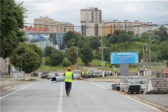 Красная площадь Чебоксар встает на реконструкцию