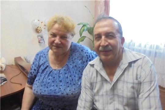 В год 550 летия города Чебоксары супруги Васильевы отметили «коралловую свадьбу»