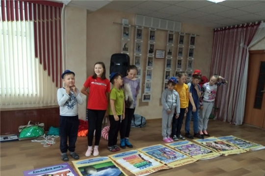 Дети из лагеря комплексного центра г. Чебоксары узнали о различных профессиях