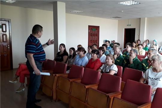 В Калининском районе продолжаются встречи в трудовых коллективах, посвященные 550-летию Чебоксар
