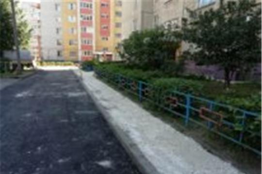 На территории Калининского района идут работы по ремонту дорог