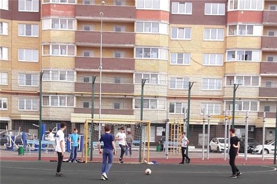 В Калининском районе города Чебоксары состоялись спортивные мероприятия