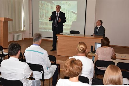 Трудовые коллективы трех предприятий ознакомлены с историей города и программой мероприятий к 550-летию Чебоксар