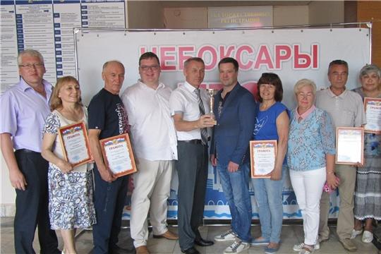 Калининский район г. Чебоксары – победитель республиканской спартакиады «Спортивное долголетие»