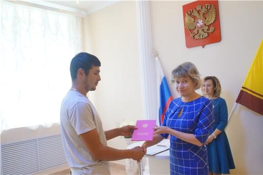В год 550-летия г. Чебоксары в Калининском районе зарегистрирован 1300-й новорожденный