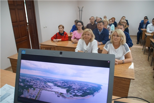 Чебоксарам – 550: на предприятиях и организациях Калининского района проходят познавательные встречи