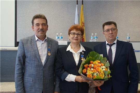 На ПАО «Промтрактор» состоялось вручение юбилейных медалей «В память о 550-летии города Чебоксары»