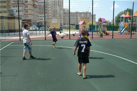 В Калининском районе состоится турнир по мини – футболу, посвященный 550 - летию г. Чебоксар
