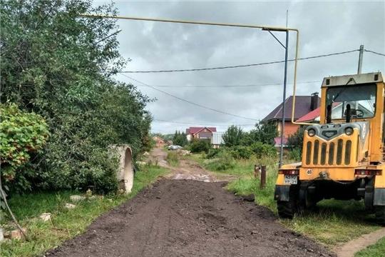 Инициативность чебоксарцев позволяет благоустроить дороги частного сектора