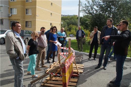 В Калининском районе Чебоксар состоялся традиционный обход территорий