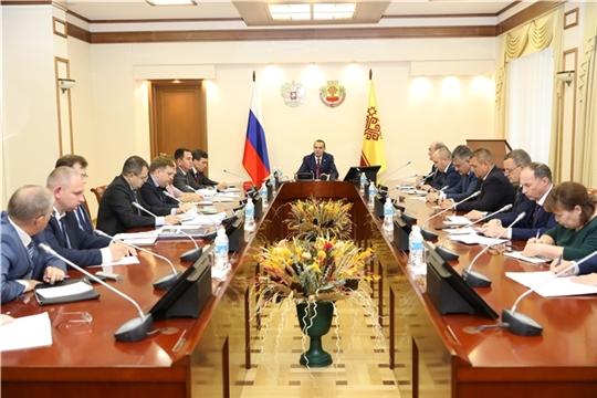 лава Чувашии Михаил Игнатьев провел совещание по реализации нацпроектов