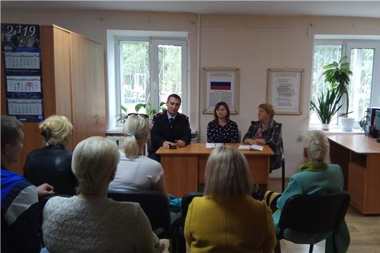 Советы профилактики в Калининском районе г. Чебоксары продолжают свою работу