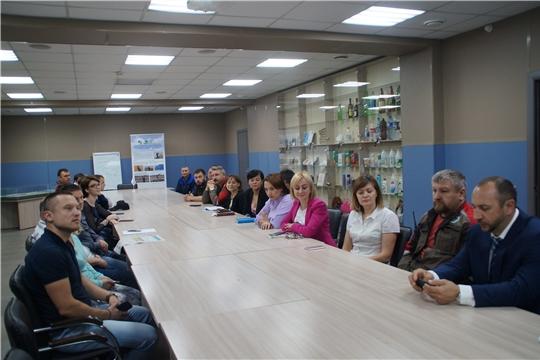 Чебоксарам - 550: глава администрации Калининского района Яков Михайлов провел встречи с трудовыми коллективами