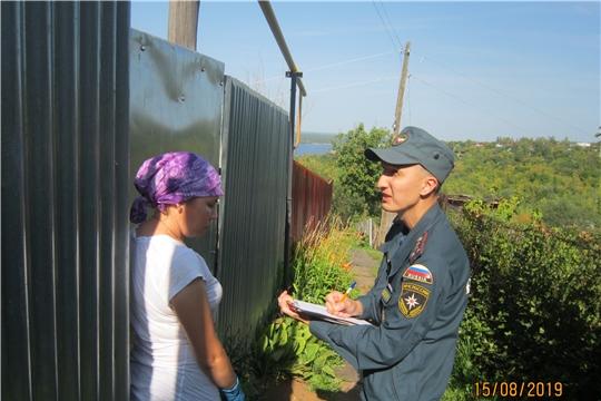 Жителям Калининского района напоминают правила пожарной безопасности