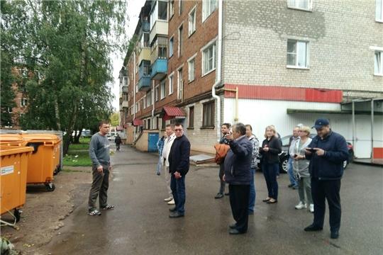 В Калининском районе состоялся еженедельный обход территории