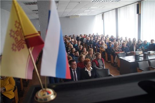 Калининский район: на предприятиях прошли встречи, посвященные 550-летию Чебоксар
