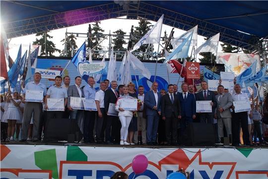 В День города предприятия Калининского района украсили фестиваль «Чебоксары - город славы трудовой»