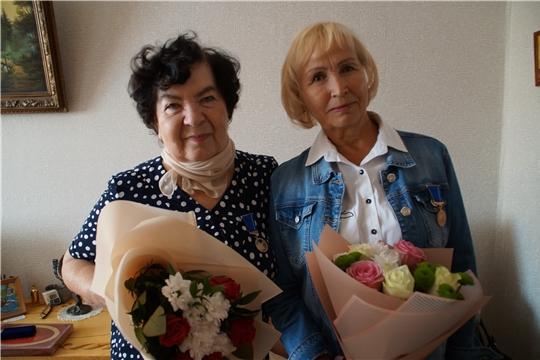 Калининский район: медаль «В память о 550-летии города Чебоксары» вручена трем уважаемым людям
