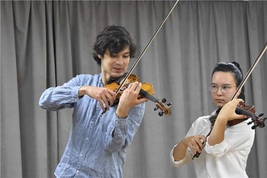 Скрипичная школа Чебоксар – на высоте!