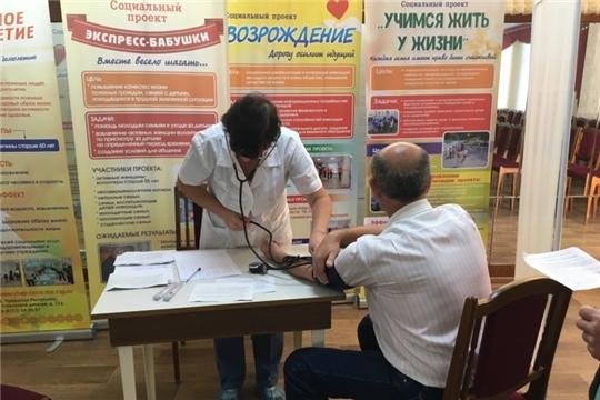 В комплексном центре г. Чебоксары прошла вакцинация против гриппа