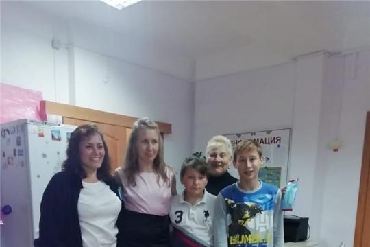 Волонтеры навестили воспитанников нашего центра
