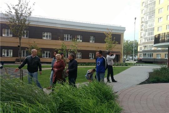 В Калининском районе проведен обход территорий